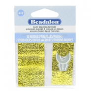 Beadalon Needles for bead cord sizes up to 0.18mm Silver