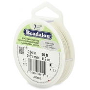 Beadalon stringing wire 7 strand 0.61mm Silver