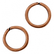 Findings TQ metal jump ring 16mm Copper (Nickel Free)