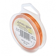 22 Gauge Artistic Wire Natural Copper