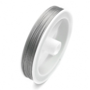 0.6mm Aluminium wire Transparant silver color