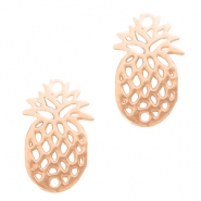 Bohemian charms pineapple Rose Gold