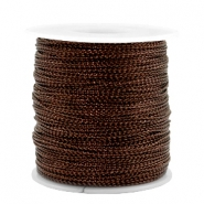 Trendy cord metal style wire 0.5mm Copper Brown