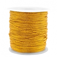 Trendy cord metal style wire 0.5mm Honey Gold