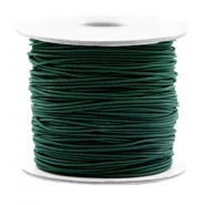 Coloured elastic cord 0.8mm Dark Green