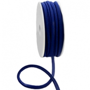 Stitched Elastic Ibiza Ribbon Dark Blue