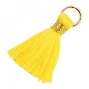 Tassels 1.8cm Gold-Cyber Yellow
