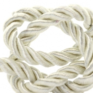 Trendy cord weave 6mm Lightning white