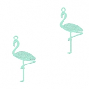 Bohemian charms flamingo Fresh Mint Green
