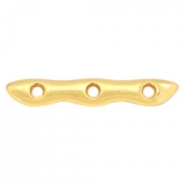 DQ European metal findings spacer/connector Gold (nickel free)