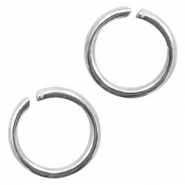 Stainless Steel findings jump ring 5mm Antique Silver