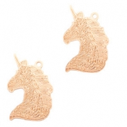 Bohemian charms unicorn Rose Gold