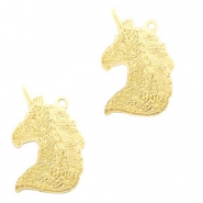 Bohemian charms unicorn Gold