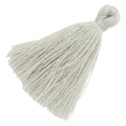 Tassels basic 3cm Light Grey