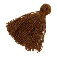Tassels basic 2cm Dark Chocolate Brown