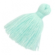 Tassels basic 2cm Light Turquoise