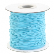 Coloured elastic cord 0.8mm Sky Blue