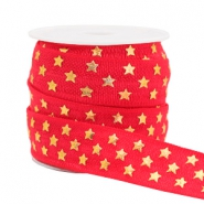 Elastic ribbon stars Red