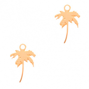 Bohemian charms palmtree Rose Gold (nickel free)