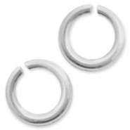 925 Silver findings jump rings 4mm Silver