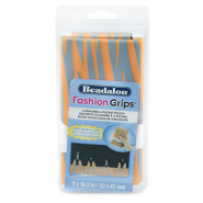 Beadalon Fashion Tool Pouch Tiger Orange-Grey