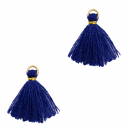Tassels 1.5cm Gold-Dark Blue