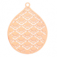 Bohemian charms drop Rose Gold (nickel free)
