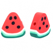 Polymer beads water melon Red-Green