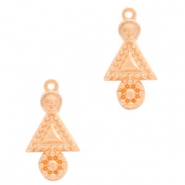 DQ European metal charms boho Rose Gold (nickel free)