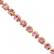 Rhinestone chain Hawthorn Rose-Gold
