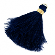 Tassels 6cm Limited edition Princess Blue-Warmgold