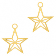 Bohemian charms star Gold