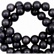 Miracle 3D beads 8mm Dark Anthracite Purple