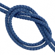 DQ trendy cord woven Stone Blue