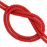DQ trendy cord woven Red