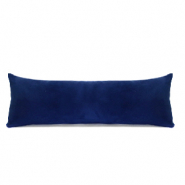 Jewellery display cushion velvet soft Denim Blue