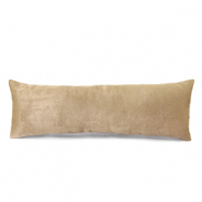 Jewellery display cushion velvet soft Beige Brown