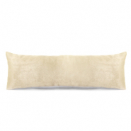Jewellery display cushion velvet soft Nude Beige