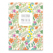 "Jewellery cards ""Hakuna Matata"" Multi Colour"
