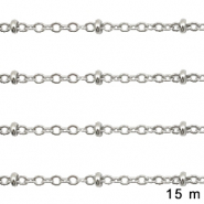 Stainless Steel findings belcher chain 2mm Silver