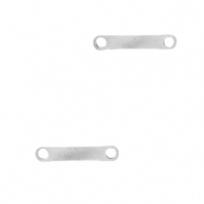 Stainless steel findings/charms bar Silver