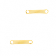 Stainless steel findings/charms bar Gold