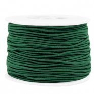 Coloured elastic cord 1.5mm Eden Green