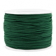 Coloured elastic cord 1.2mm Eden Green
