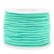 Coloured elastic cord 2mm Neo Mint Green