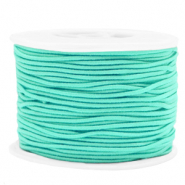 Coloured elastic cord 1.5mm Neo Mint Green