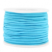 Coloured elastic cord 2mm Light Blue