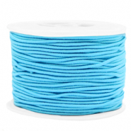 Coloured elastic cord 1.5mm Light Blue