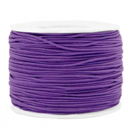 Coloured elastic cord 1.2mm Purple