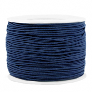 Coloured elastic cord 1.2mm Dark Blue